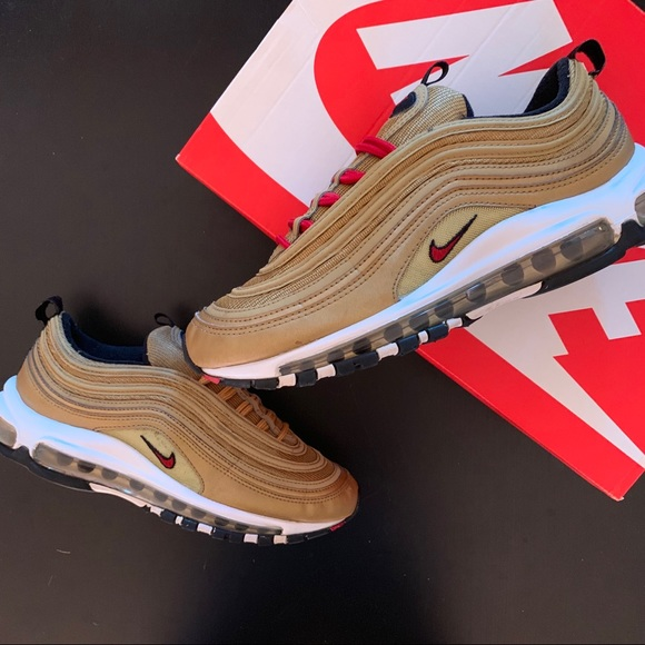 "newest e44cc f3ab6 Nike Air Max 97 OG QS ""Metallic Gold"" READ DESC"